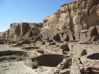 Chaco Canyon Indian Ruins
