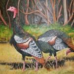 """""""Turkeys in Autumn"""" by dmk-art"""