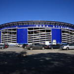 """Shea Stadium - New York Mets"" by Ffooter"