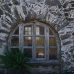 """Mission Espada Window"" by WaysideTX"