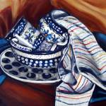 """Cleaning Up!: Polish Pottery XXIII"" by 88heather"