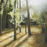 """""""""""Spring""""  Oil, Canvas.  11""""X14""""   2008 year"""" by Guzel"""