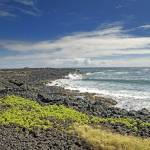 """Rocky Beach Near South Point on the Big Island, HI"" by BrendanReals"