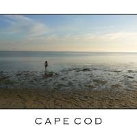 Solitary Beachcomber - Cape Cod Art Prints & Posters by Orin Cassill