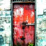 """Locked Shop Door on Baxter's Road"" by keithclarkephotography"