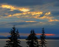 Bellingham Bay: Clouds on Fire