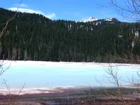 Lost Lake on the Santiam Pass Oregon