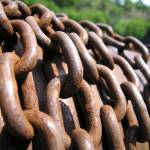 """Rusty chains 1"" by lisa_w"