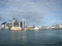 Auckland, New Zealand cityscape