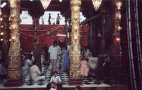 durga temple foyer