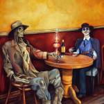 """""""A Drink Before Death"""" by 1881art"""