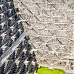 """Geometrical semi-abstract design - Chand Baori"" by ChristopherByrd"