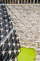 Geometrical semi-abstract design - Chand Baori