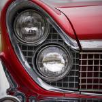 """Red American Car"" by simonholdcroft"