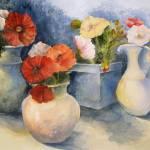 """""""Poppy Pots"""" by rose1"""