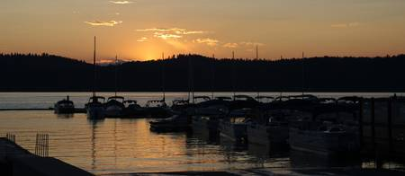 Sunset - Mile High Marina - McCall, ID