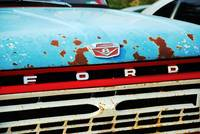 Old Rusted Ford Truck
