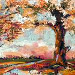 """Autumn Impression Oil Painting by Ginette"" by GinetteCallaway"