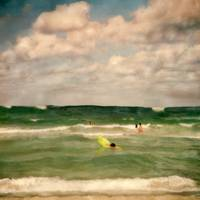 People in Green Water by Joe Gemignani