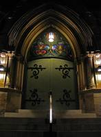 The doors of St. Andrew's