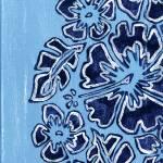 """Blue flowers"" by frostiki"