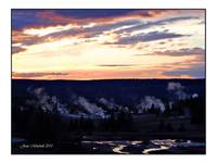 Yellowstone Smoke Stacks