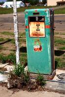 Route 66 Gas Pump - Adrian, Texas
