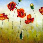 """Poppies"" by Gilmore"