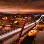 """Pennybacker Bridge - Austin, Texas"" by toddlandryphotography"