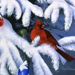"""Christmas Cardinal"" by Dullinger"