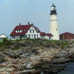 """""""Lighthouse - Portland Head, Maine"""" by Ffooter"""