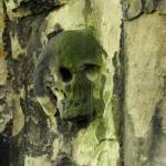 """Greyfriars Skull Headstone"" by KatRosePhotography"