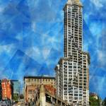 """""""Smith Tower"""" by ScovoPhoto"""