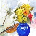 """""""Blue vase"""" by rose1"""