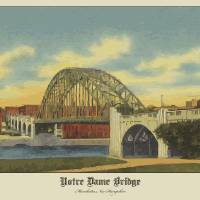 """NHNotreDameBridge copy"" by Nick Carter"