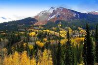 Red Mountain in Fall