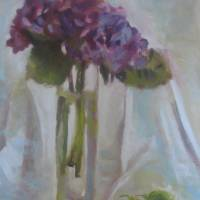 Hydrangea Art Prints & Posters by elilundpaintings