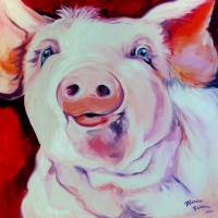 MOLLY the PINK PIG by Marcia Baldwin