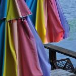 """Folded Deck Umbrellas"" by maryfrances2374"