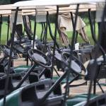 """""""Golf Cart Line-Up"""" by maryfrances2374"""