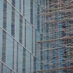 """Mirrored Scaffolding"" by PaulVictorLaughlin"