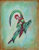 Green dancer