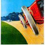 """Circvito Di Milano Italy Car Race 1922 Advertiseme"" by Johnny-Bismark"