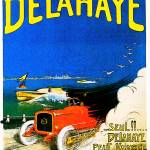 """Delahaye Automobiles ~ Vintage Auto Advertisement"" by Johnny-Bismark"