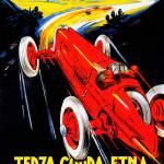 """Terza Cuppa Etna Auto Rally Italy 1927 Vintagd Ad"" by Johnny-Bismark"