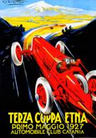 Terza Cuppa Etna Auto Rally Italy 1927 Vintagd Ad