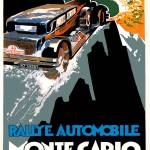 """Monte Carlo Rally Automobile Race 1930 Advertiseme"" by Johnny-Bismark"