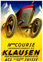 Klausen Race ~ Vintage Automobile Advertisements