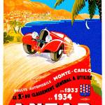 """Antar Gas ~ Vintage Auto Road Race Advertisement"" by Johnny-Bismark"