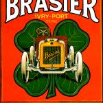 """Brasier Motor Car ~ Vintage Automobile Advertiseme"" by Johnny-Bismark"